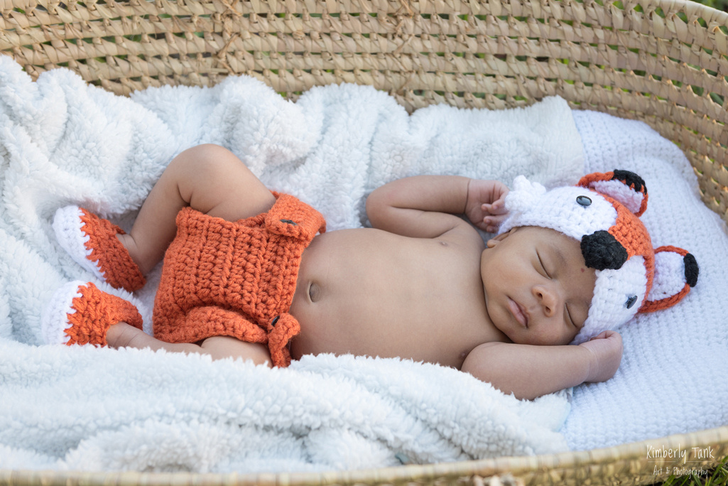 in-home - outdoor newborn photos