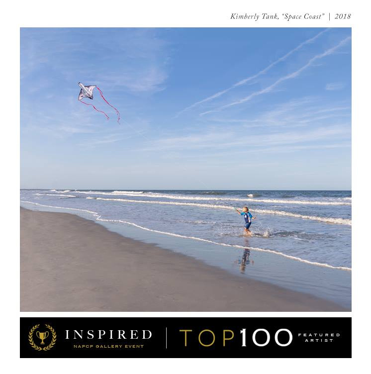 boy flying kite on beach on Amelia Island