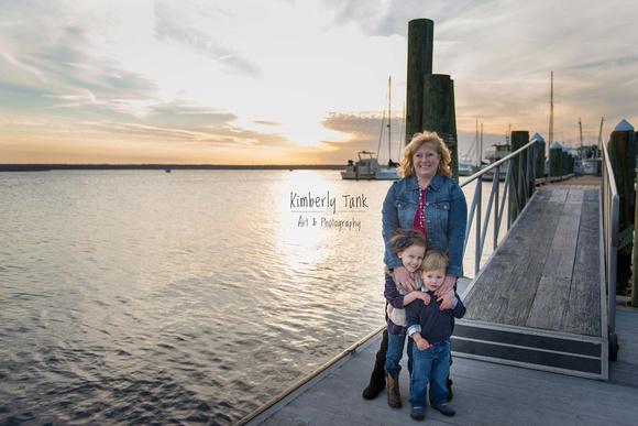 grandma with grandkids, St Marys, GA
