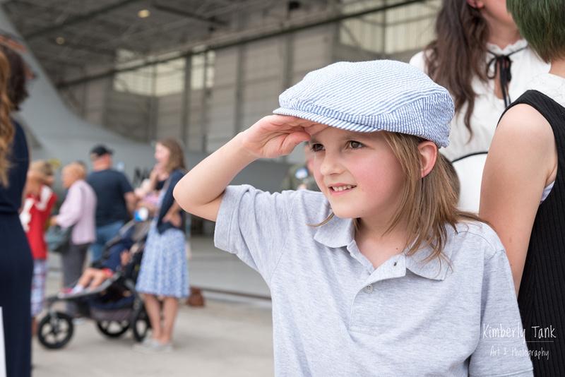 Navy pilot homecoming