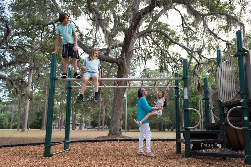 family fun at the park