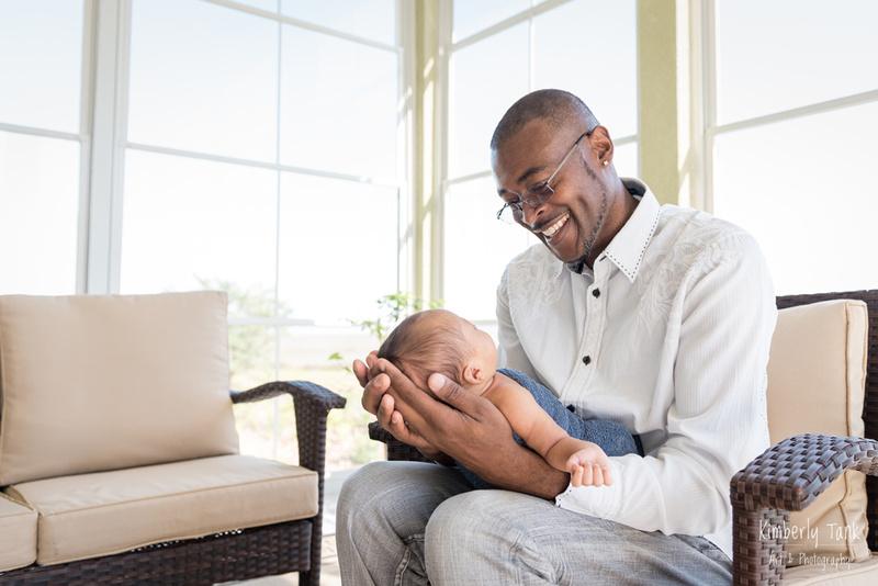 in-home - outdoor newborn photos