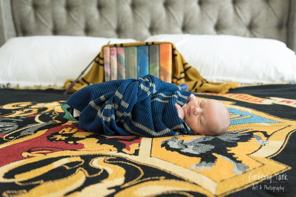 Harry Potter Newborn Photos